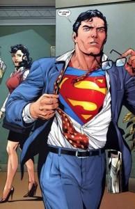 Taking off Clark Kent Glasses