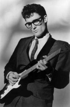 Buddy Holly Wearing Wayfarer Glasses