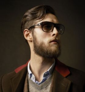 Hipster with Beard